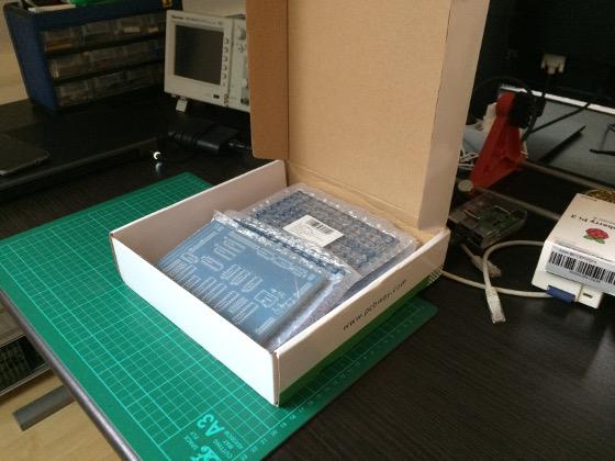 Box of BYTEC/16 Rev. 2.0 boards